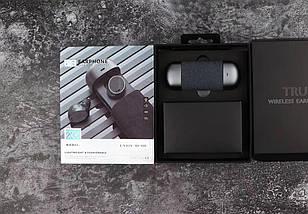 Беспроводные Стерео наушники TWS 206 Bluetooth с боксом для зарядки. Черный, фото 2