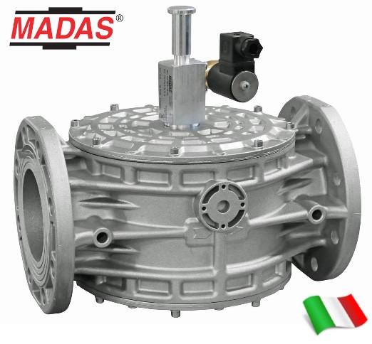 Электромагнитный клапан с ручным взводом MADAS