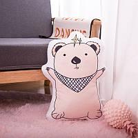 Мягкая игрушка - подушка Обнимающий мишка, 50см Berni