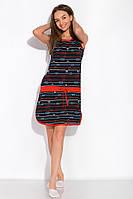 Ночная рубашка женская 107P2718 (Темно-синий/красный), фото 1