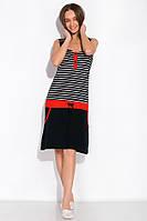Ночная рубашка женская 107P2720 (Темно-синий/красный), фото 1