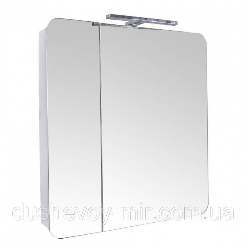 Зеркальный шкаф Рома 70 см