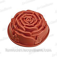 Силіконова форма для випічки Happy Flex RosePan (Ø230, h=95 мм), HF01252