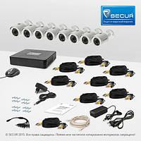 Комплект видеонаблюдения Tecsar 8OUT LUX
