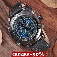 Мужские наручные часы AMST 3022 Black-Silver-Blue