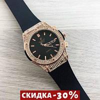 Мужские наручные часы Big Bang Diamonds 882888B Gold-Black