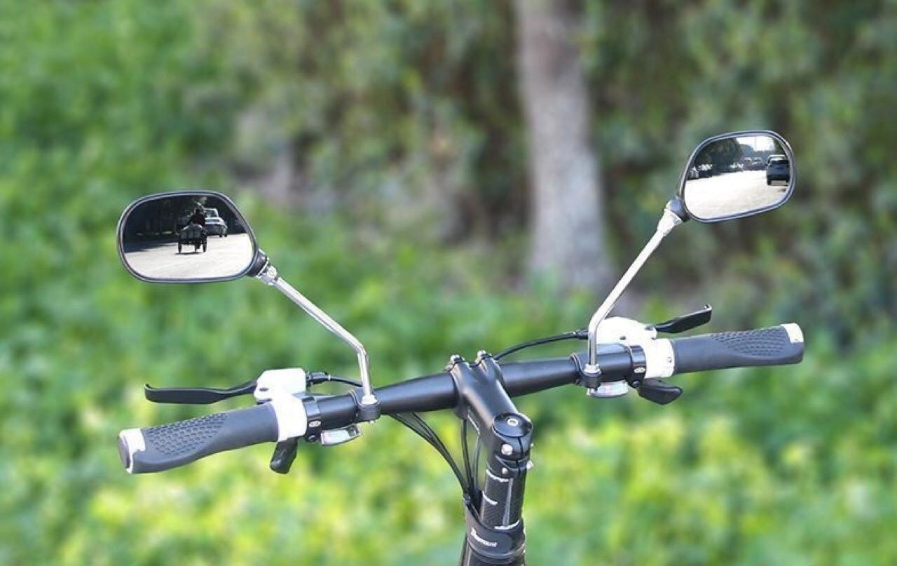Вело зеркала заднего вида для велосипеда на руль