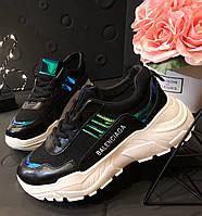 Черные кроссовки женские,р.36,5;37;38;40