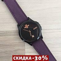 Женские наручные часы Gucci 1483 Violet-Black