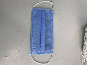 Маска захисна одноразова Safe комплект 10 штук Синій (hub_m0cvfi)