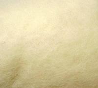 Новозеландский кардочёс для валяния, (1001) белая