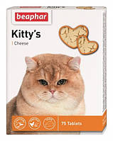 Beaphar (Беафар) Вітамінізоване ласощі для кішок з сиром Kitty 75таб