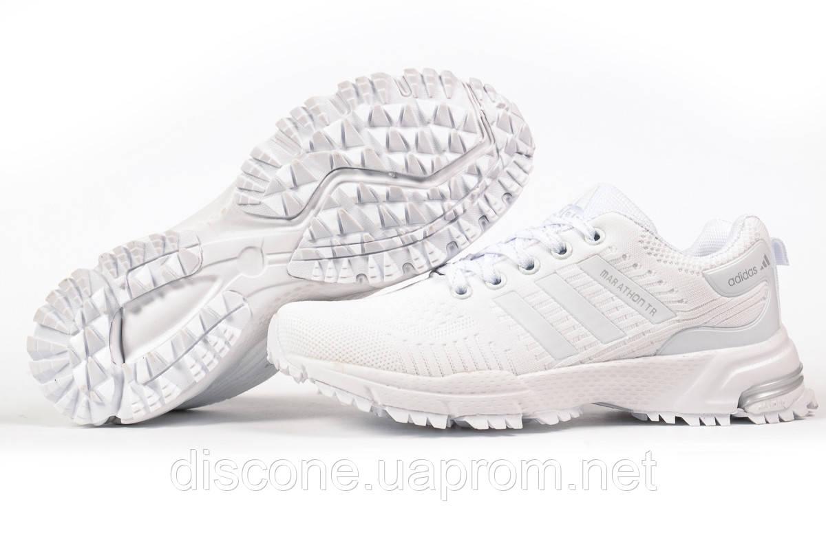 Кроссовки женские 17006 ► Adidas Marathon Tn, белые ✅Скидка 31% [ 38 ] ► (38-23,5см)
