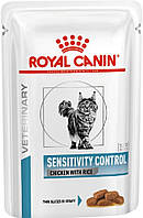 Royal Canin Sensitivity Control Feline влажный, 12 шт