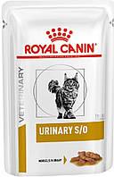 Royal Canin Urinary S/O Feline в соусе, 12 шт