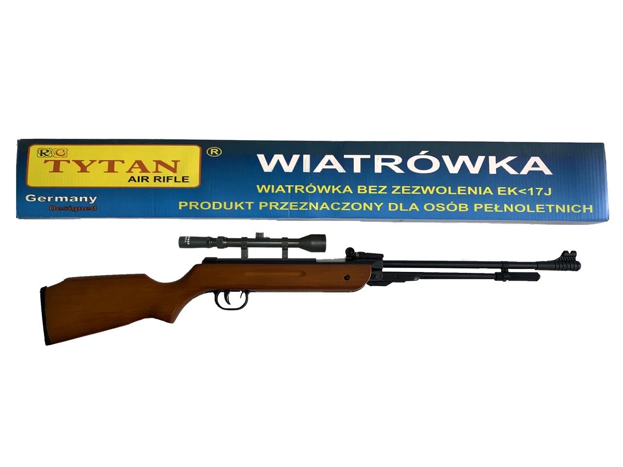 Пневматична гвинтівка TYTAN B3-3 оптика 3-7x28TV