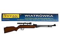 Пневматична гвинтівка TYTAN B3-3 оптика 3-7x28TV, фото 1