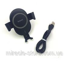 Автомобільна бездротова док зарядка для вашого смартфона Ios.Android, IPIPOO WP-2, фото 2