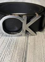 Ремень кожаный мужской Calvin Klein