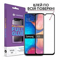 Защитное стекло MakeFuture для Samsung Galaxy A20 SM-A205 Full Cover Full Glue, 0.33 mm (MGF-SA200)