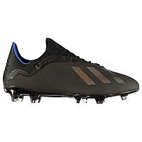 Бутсы adidas adidas X 18.2 FG Black/Black - Оригинал, фото 1