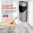 Домофон з камерою Tina Smart Doorbell Wi-Fi B30 1080p дверна відеокамера, фото 5