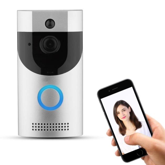 Домофон з камерою Tina Smart Doorbell Wi-Fi B30 1080p дверна відеокамера