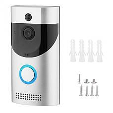 Домофон з камерою Tina Smart Doorbell Wi-Fi B30 1080p дверна відеокамера, фото 2