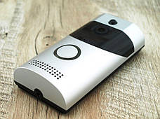 Домофон з камерою Tina Smart Doorbell Wi-Fi B30 1080p дверна відеокамера, фото 3