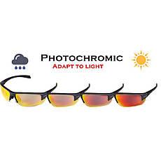 Очки Global Vision Hercules-7 Photocromic (фотохромные зеркальные красные), фото 2