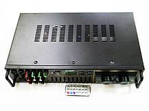 Усилитель звука - UKC AV-663BT Bluetooth FM SD USB AUX Караоке 4 x Микрофона, фото 3