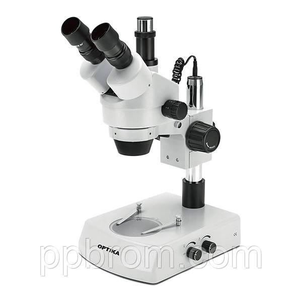 Микроскоп Optika SZM-2 7x-45x Trino Stereo Zoom