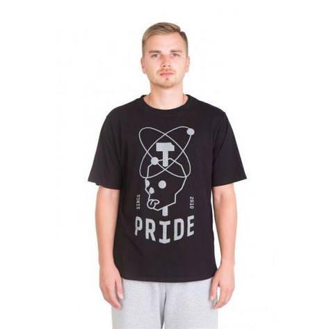 Футболка Pride ЧЕРЕП черная, размер S, фото 2