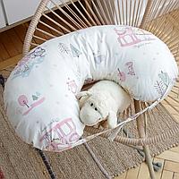 """Подушка для кормления """"юла мама"""" (для девочки) Юла мама"""