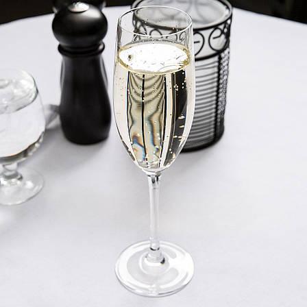 """Набір скляних келихів шампань-флюте Arcoroc C&S """"Cabernet"""" 240 мл (D0796), фото 2"""