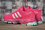Кросівки жіночі 17001, Adidas Marathon Tn, малинові, [ 36 37 38 ] р. 36-22,5 див., фото 4