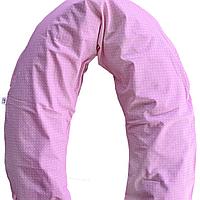 Подушка для беременных (розовый) холлофайбер Мамин Дом