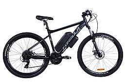 """Электровелосипед 27.5"""" F-1 500Вт 36В, 14Ач, макс.пробег 55км, 45 км/ч (черно-белый (м))"""