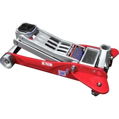 Домкрат алюминиевый подкатной 2 тонны 90-440 мм Intertool GT0173