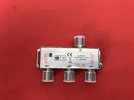Антенний розгалуджувач 1/3, сплітер з проходом живлення ZLA0636