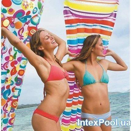 Надувний матрац Intex 183х69 см (59711) Різні кольори, фото 2