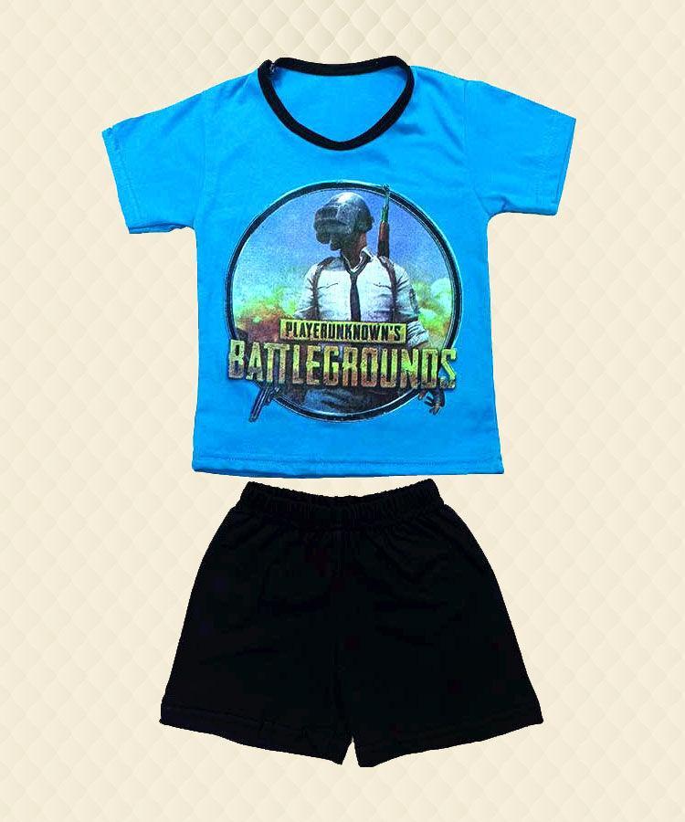 Костюм футболка і шорти Battlegrounds накат кулір