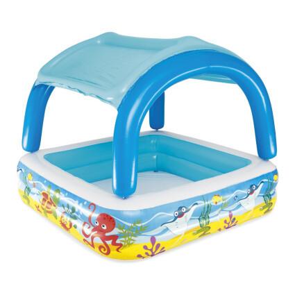 Bestway Детский надувной бассейн Bestway 52192 (140х140х114)