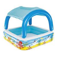 Bestway Детский надувной бассейн Bestway 52192 (140х140х114), фото 1