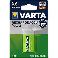 Аккумулятор Varta Ready to Use 6LF22 Ni-MH 200 mAh BL 1шт
