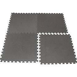 Защитный коврик для кардиотренажера (1  секция) 100*100*1 см