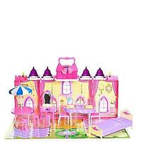 Кукольный домик Замок с мебелью
