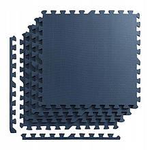 Мат-пазл (ласточкин хвост) 4FIZJO Mat Puzzle EVA 120 x 120 x 1 cм 4FJ0078 Graphite