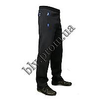 Утепленные мужские брюки байка пр-во Турция KD1018 Dark blue, фото 1