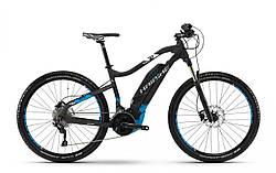 "Электровелосипед Haibike SDURO HardSeven 5.0 500Wh 27,5"",  рама M, черно-синий-белый, 2018"